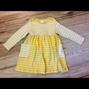 Hanna Andersson Girls Bright Basics Dress size 3T